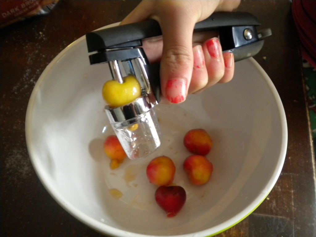 oxo cherry pitter menya
