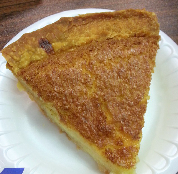 buttermilk pie, fat cow bbq