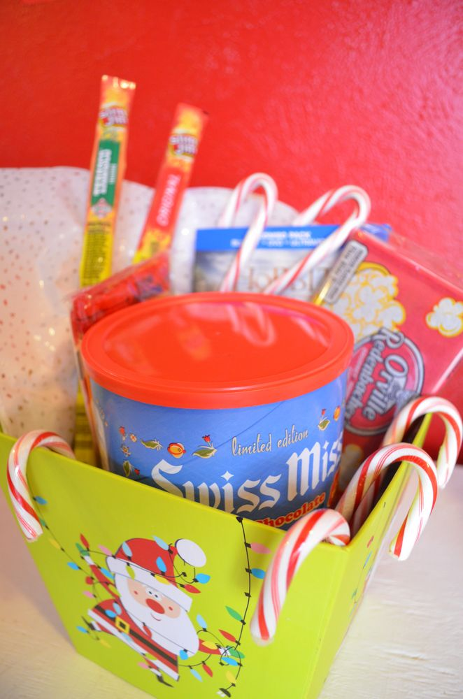Christmas Date Night Basket #EasyGifts #shop #cbias
