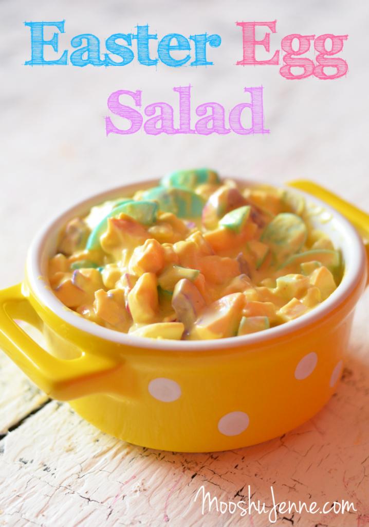 Easter Egg Salad | MooshuJenne.com #Foodelicious #Easter