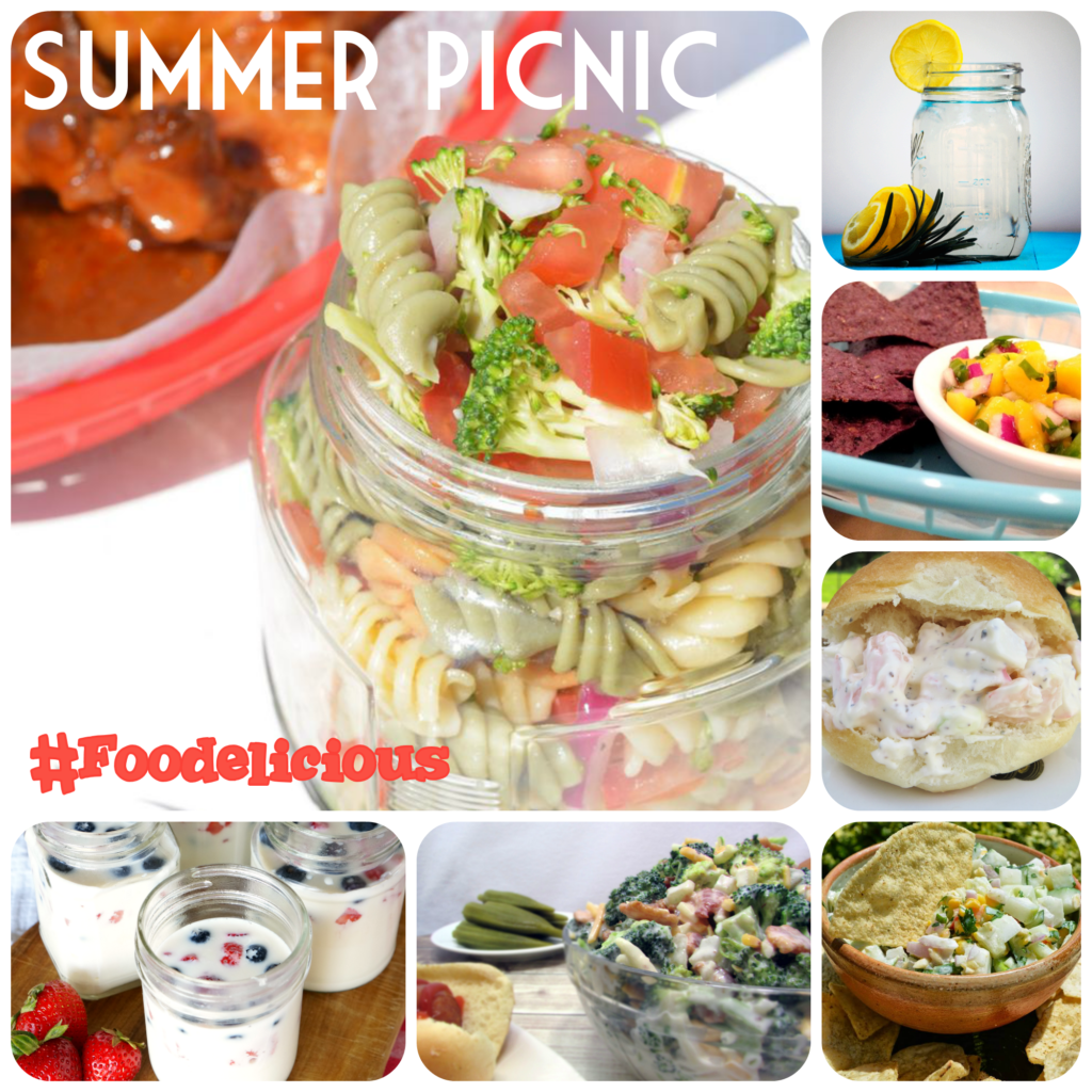 Summer Picnic Recipes #Picnic #Foodelicious