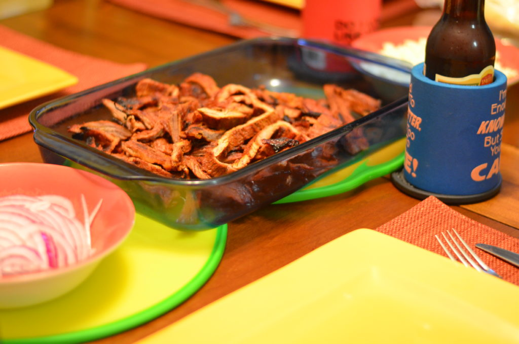 Splash Party - Beef Fajitas - Mooshu Jenne #SplashParty #Foodelicious