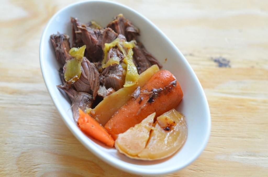 Peperoncini Pot Roast - Mooshu Jenne #FoodDeservesDelicious #shop