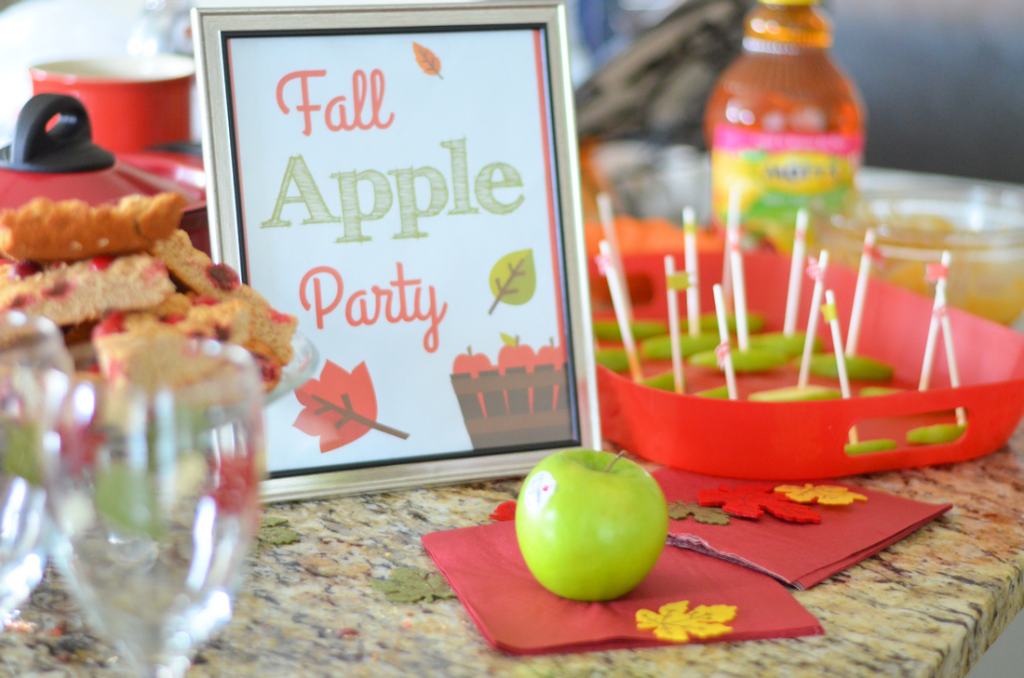 Candied Apple Party - Mooshu Jenne #FlavorofFall #CollectiveBias #shop